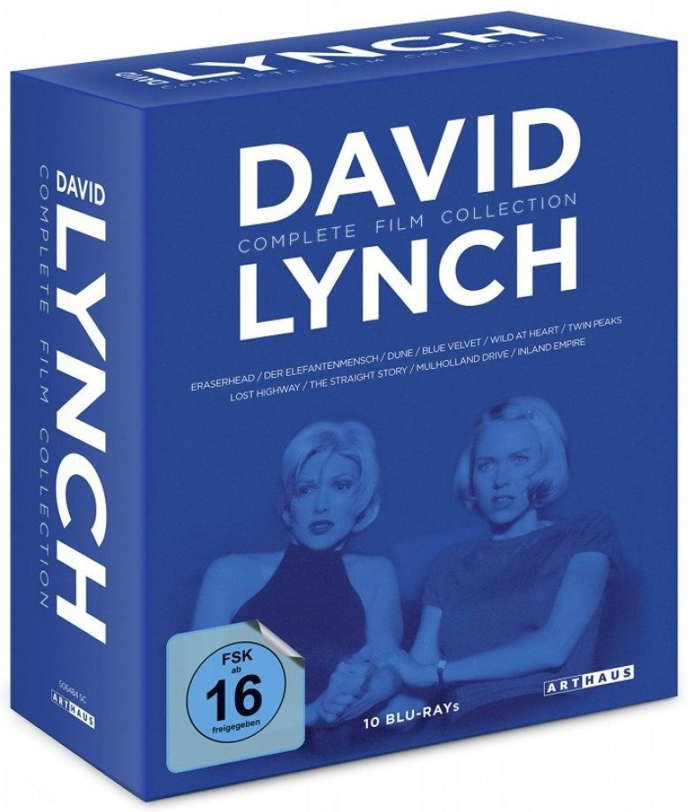 David Lynch - Complete Film Collection (10 Discs) (BLURAY)