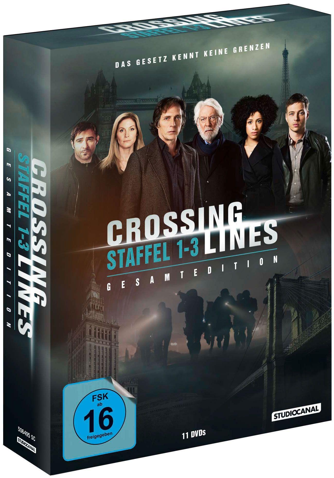 Crossing Lines - Die komplette Serie (11 Discs)