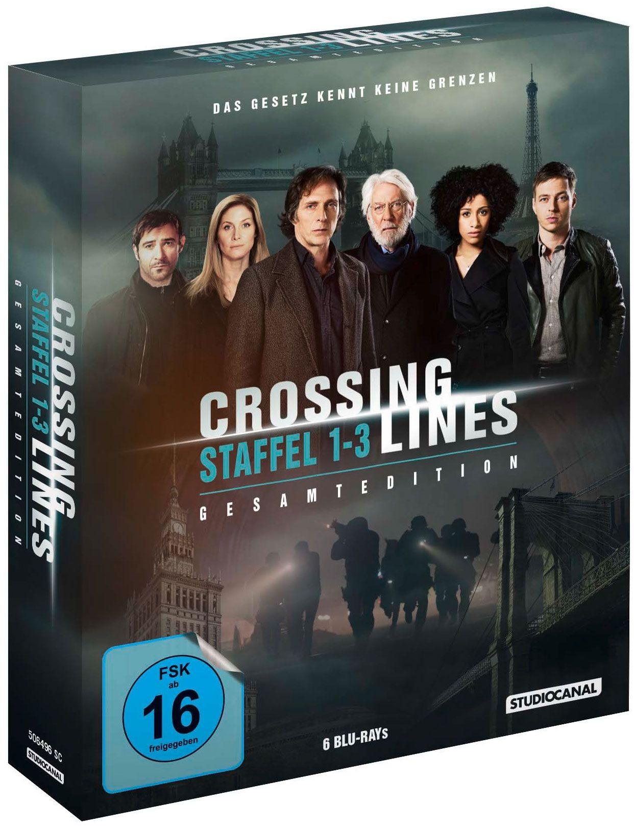Crossing Lines - Die komplette Serie (6 Discs) (BLURAY)