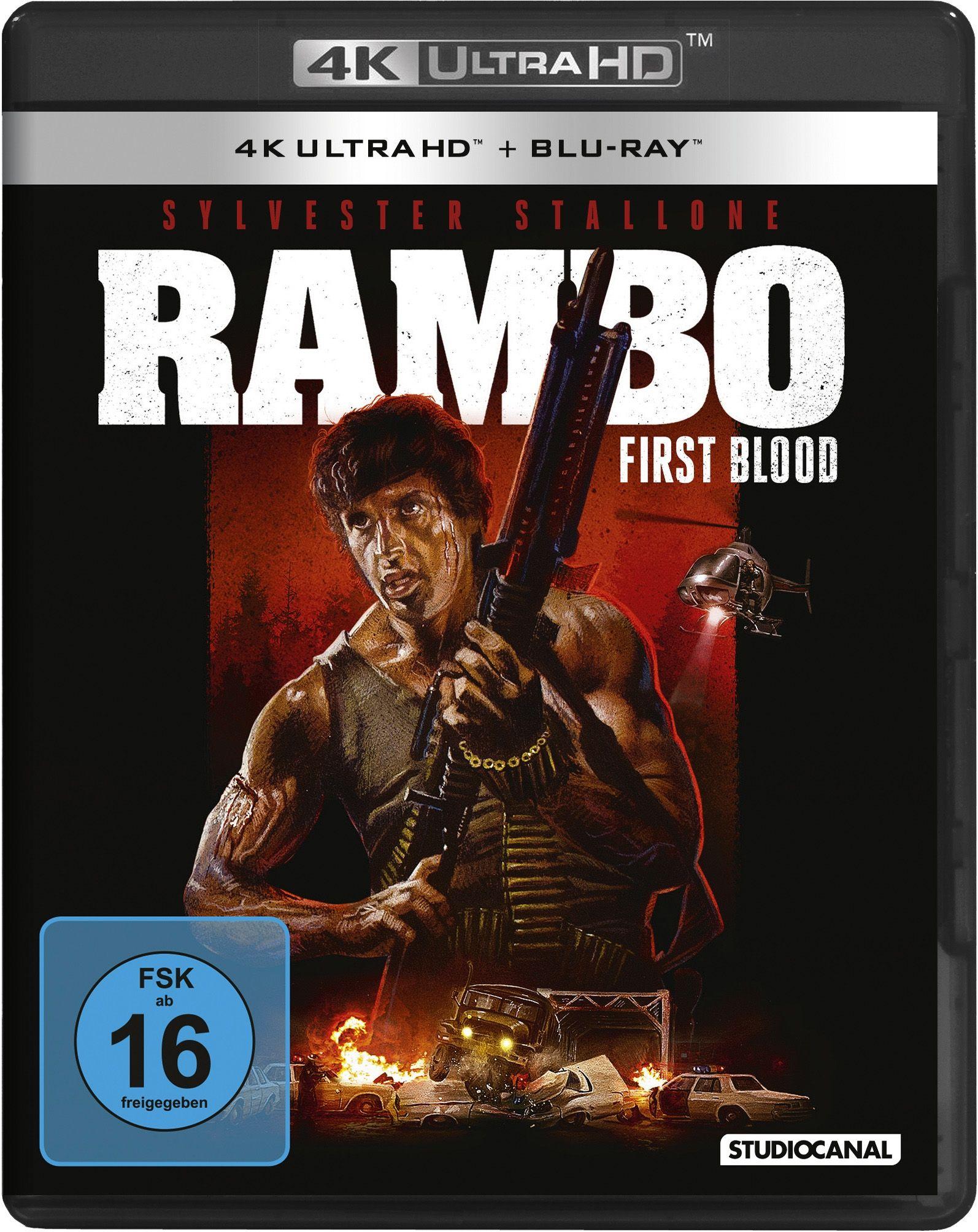 Rambo - First Blood (Uncut) (2 Discs) (UHD BLURAY + BLURAY)