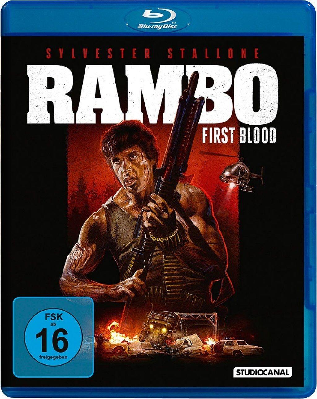 Rambo - First Blood (Uncut) (BLURAY)