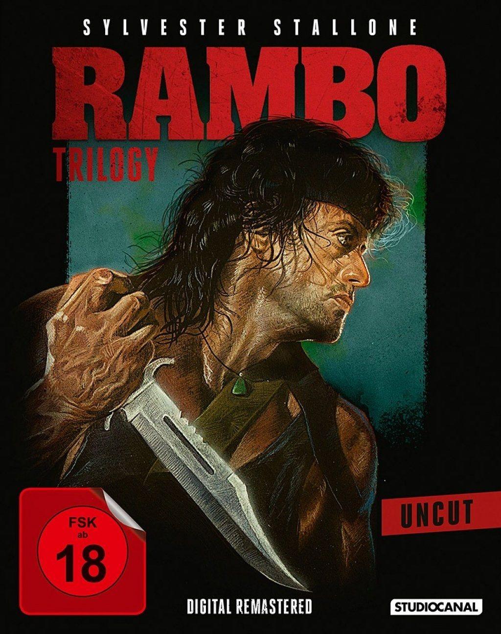 Rambo Trilogy (Uncut) (3 Discs) (BLURAY)