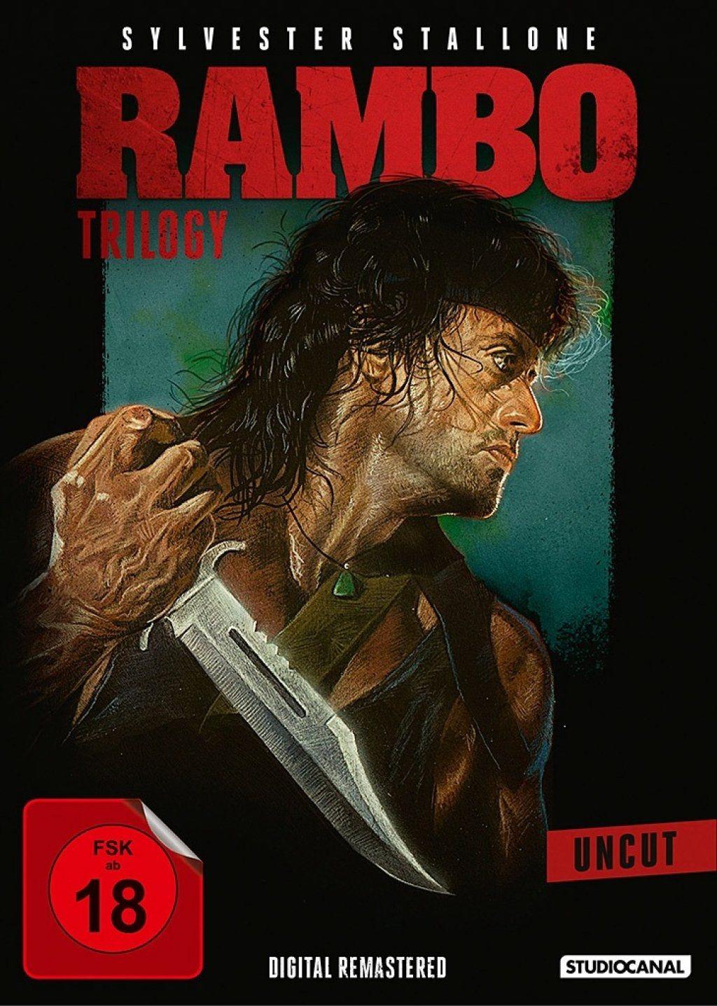 Rambo Trilogy (Uncut) (Digital Remastered) (3 Discs)