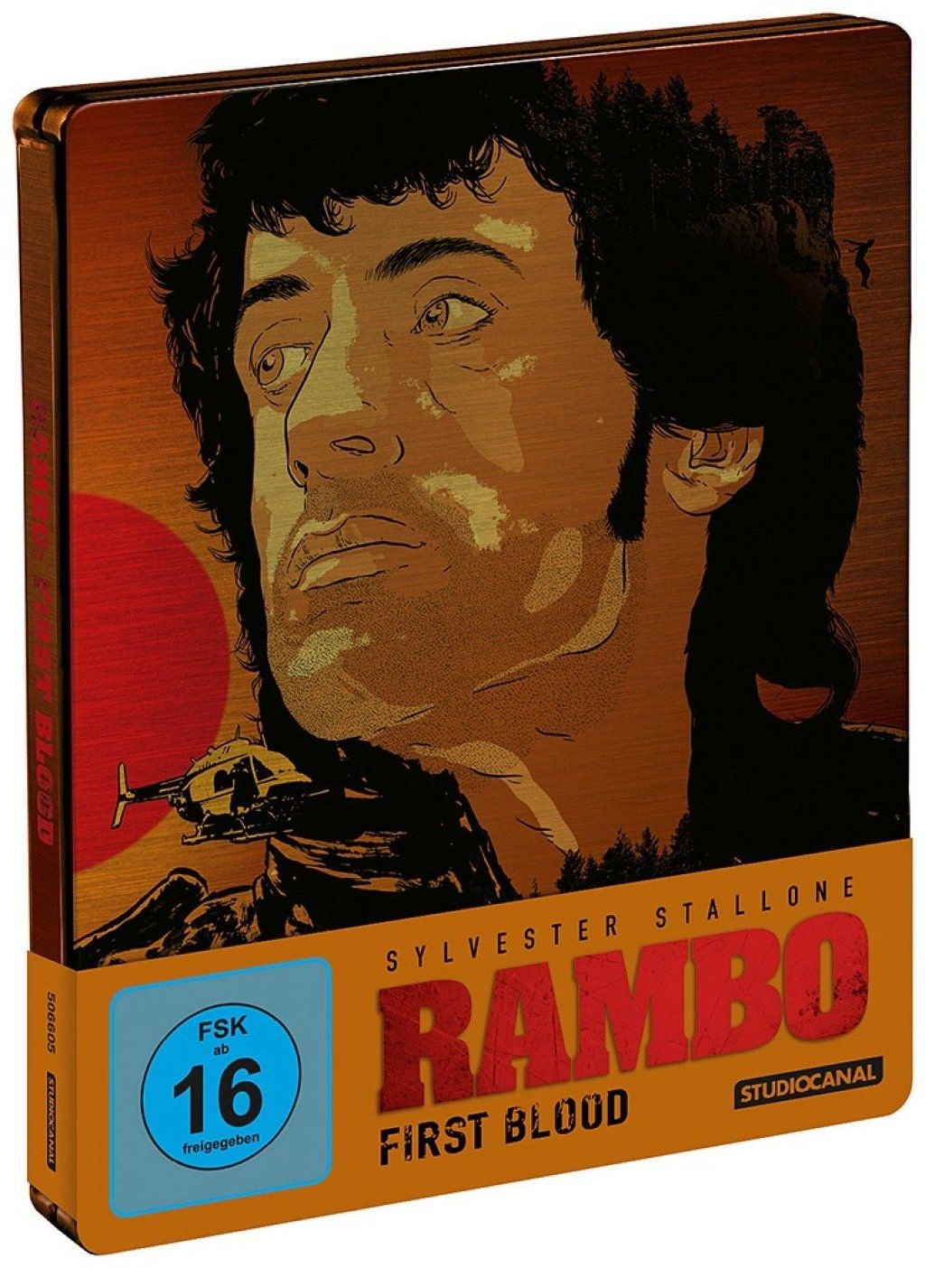 Rambo - First Blood (Lim. Uncut Steelbook) (BLURAY)