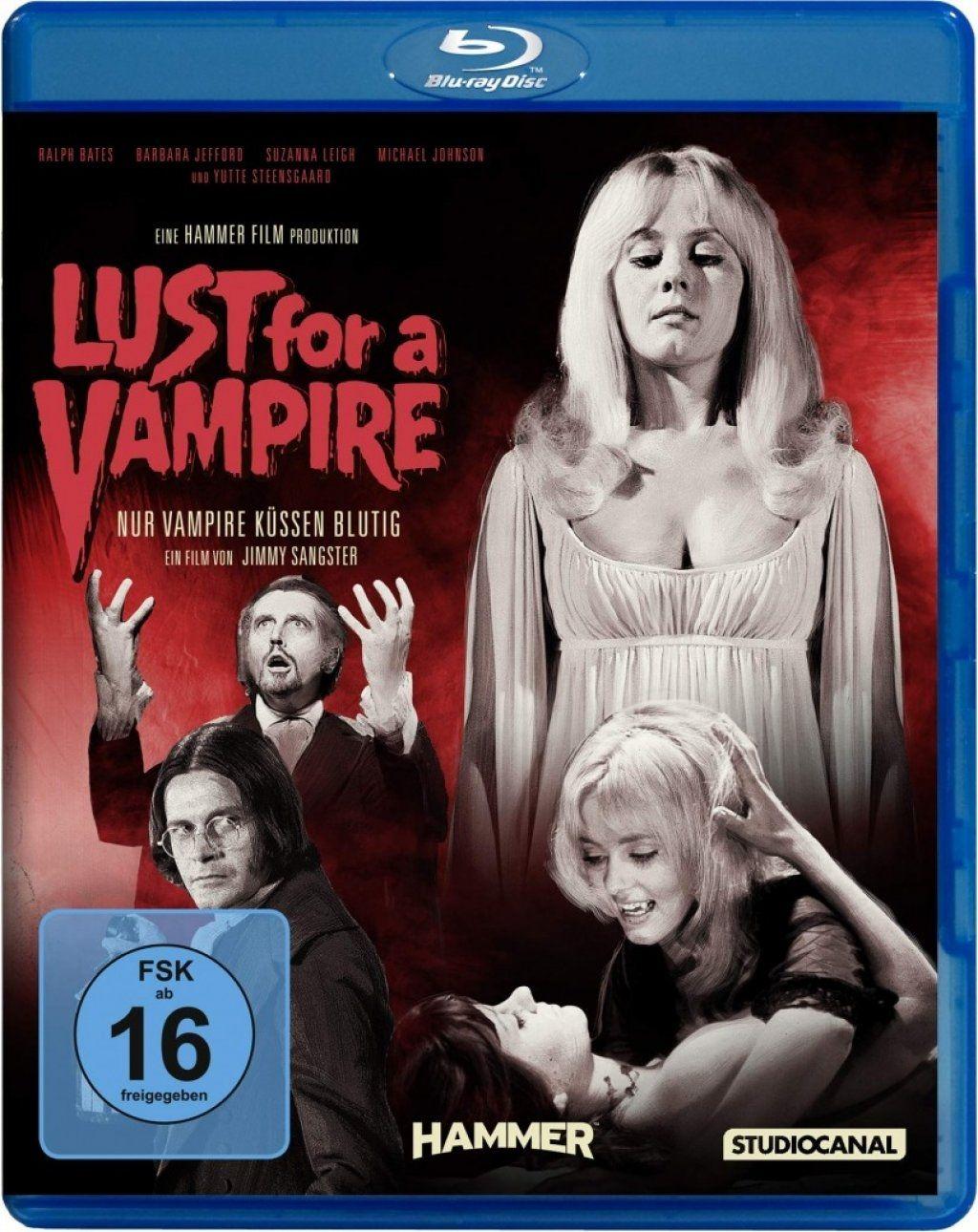 Lust for a Vampire - Nur Vampire küssen blutig (BLURAY)