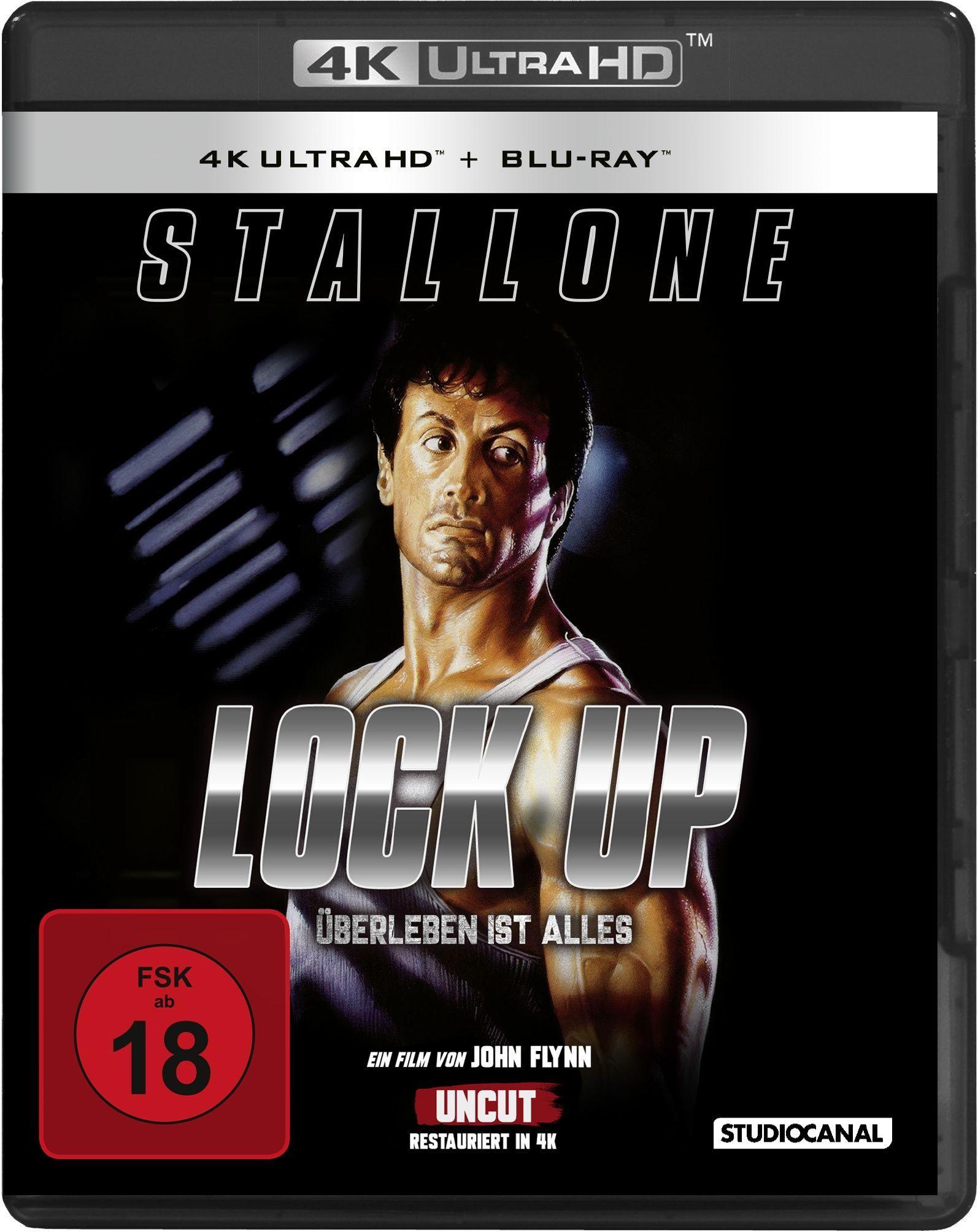 Lock Up - Überleben ist Alles (2 Discs) (UHD BLURAY + BLURAY)