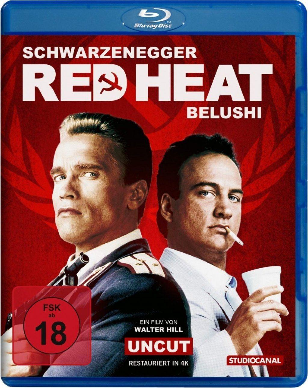 Red Heat (4K Remastered) (BLURAY)