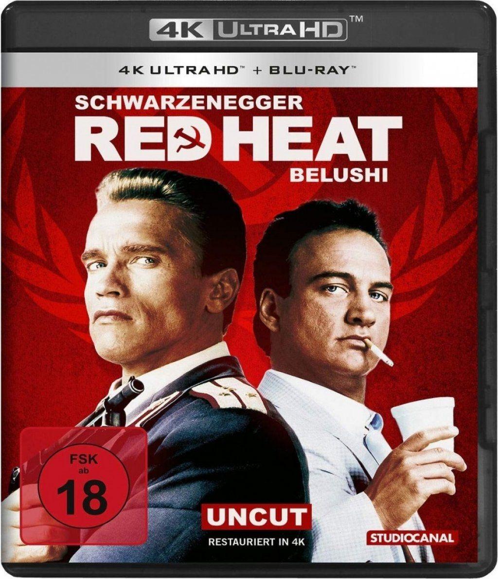 Red Heat (2 Discs) (UHD BLURAY + BLURAY)