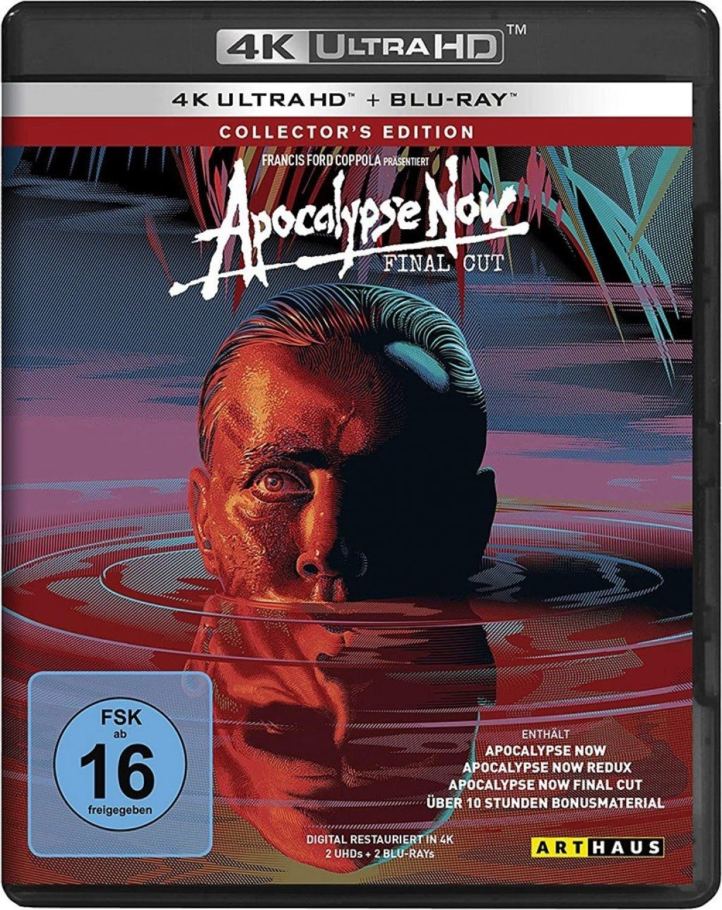 Apocalypse Now (Final Cut) (4 Discs) (UHD BLURAY + BLURAY)