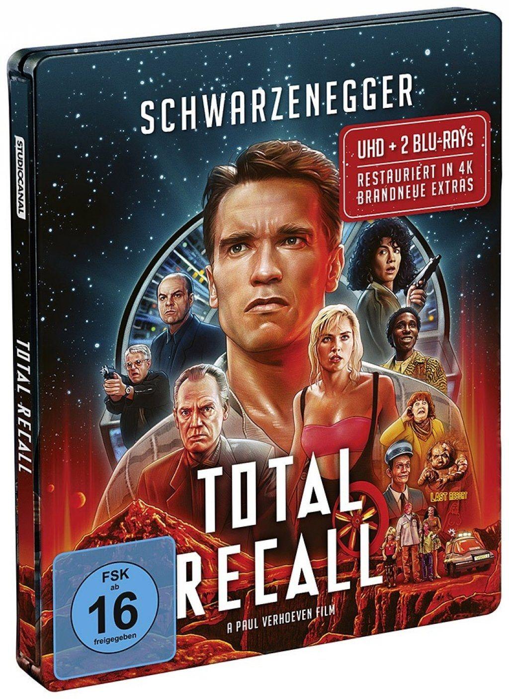 Total Recall - Die totale Erinnerung (Lim. Steelbook) (3 Discs) (UHD BLURAY + BLURAY)