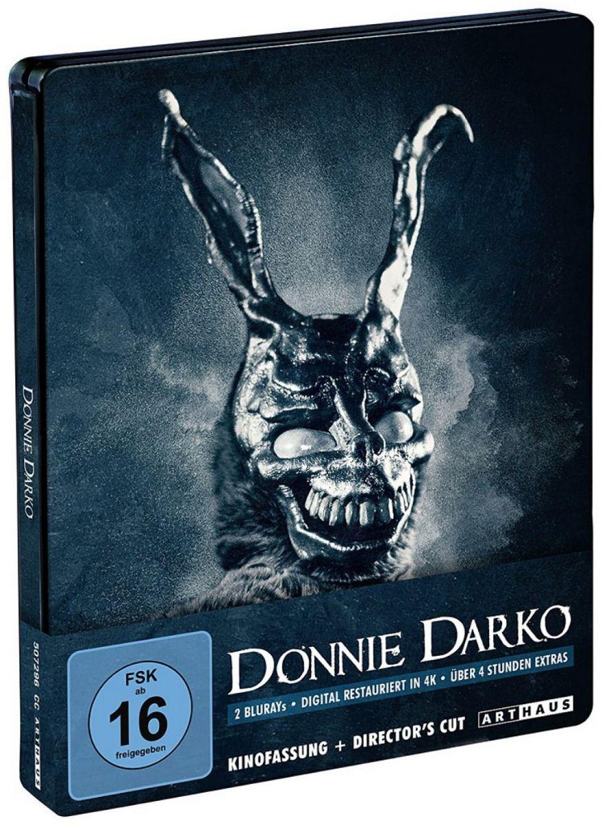 Donnie Darko (Kinofassung + Director's Cut) (Lim. Steelbook) (2 Discs) (BLURAY)