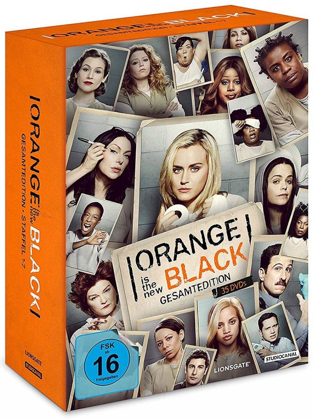 Orange Is the New Black - Die komplete Serie (35 Discs)
