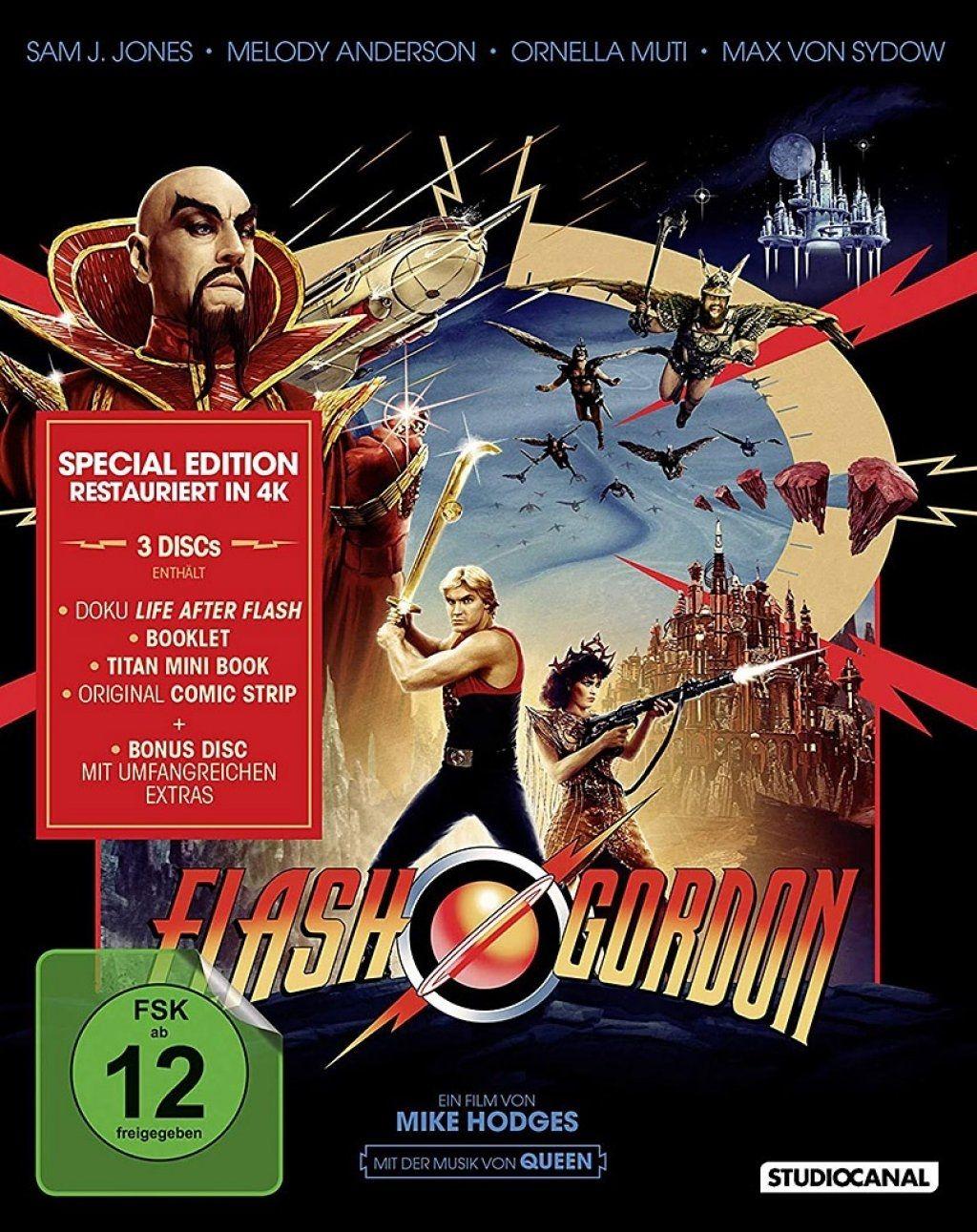 Flash Gordon (Special Edition) (3 Discs) (BLURAY)
