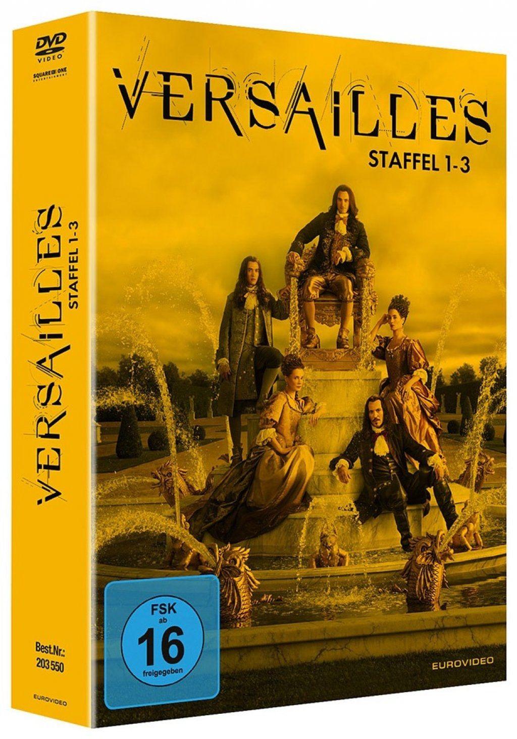 Versailles - Die komplette Serie (12 Discs)