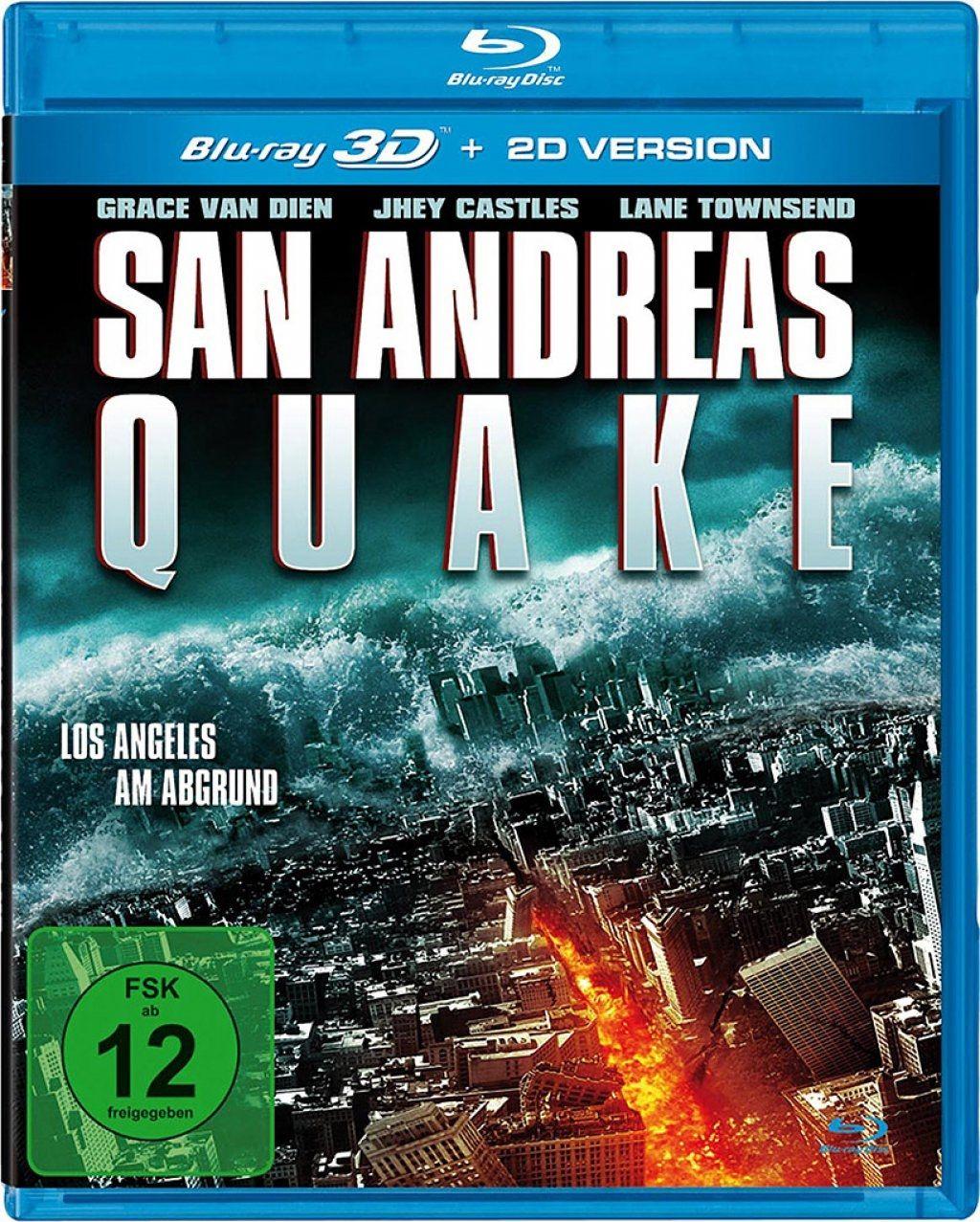 San Andreas Quake - Los Angeles am Abgrund 3D (BLURAY 3D)