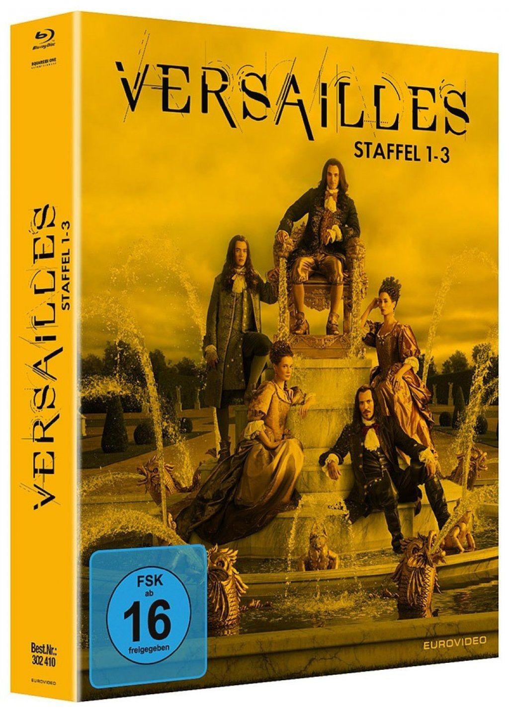 Versailles - Die komplette Serie (9 Discs) (BLURAY)