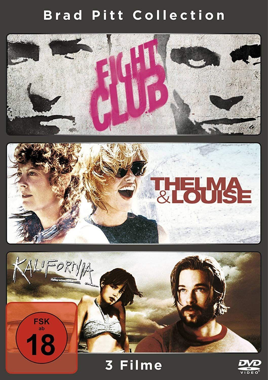Fight Club / Thelma & Louise / Kalifornia (Brad Pitt Collection) (3 Discs)