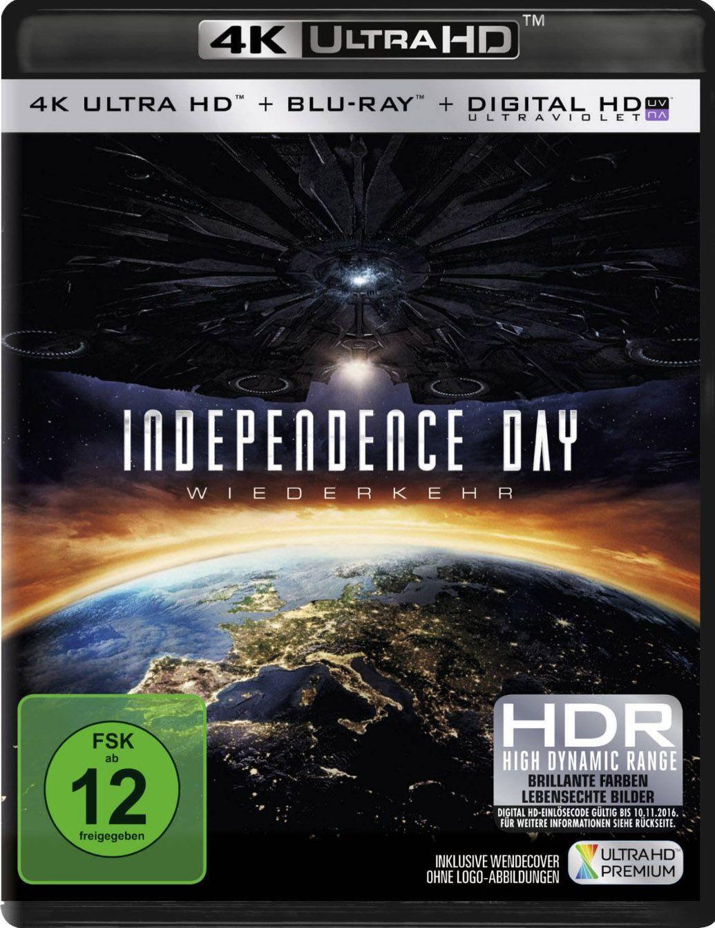 Independence Day 2 - Wiederkehr (2 Discs) (UHD BLURAY + BLURAY)