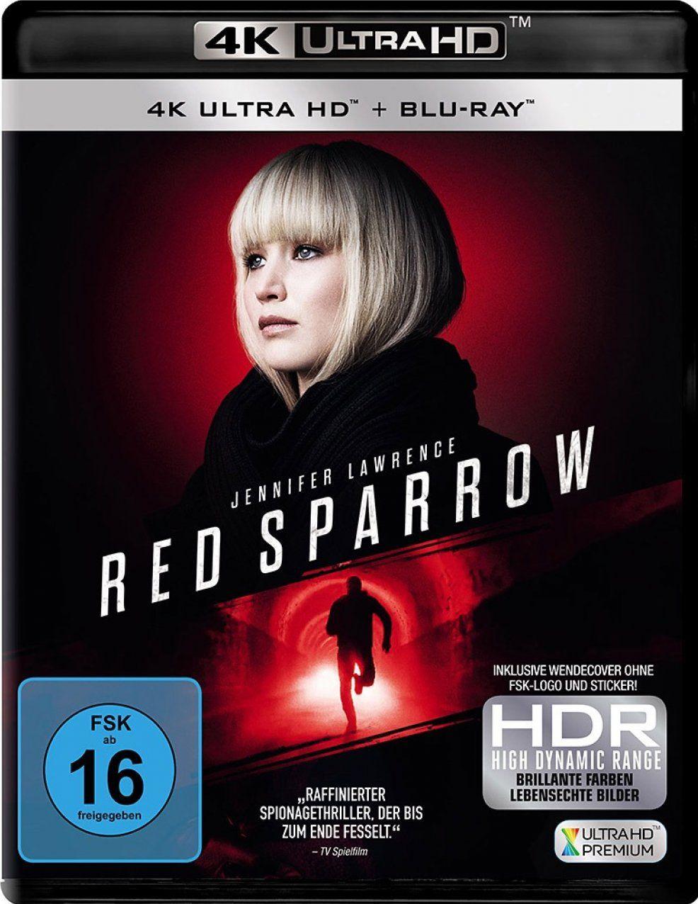 Red Sparrow (2 Discs) (UHD BLURAY + BLURAY)