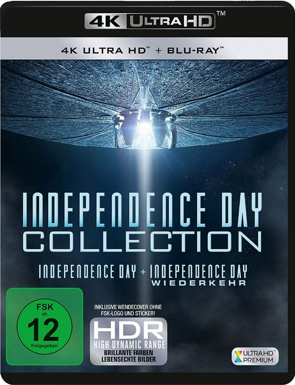 Independence Day 1 + 2 Box Set (4 Discs) (UHD BLURAY + BLURAY)