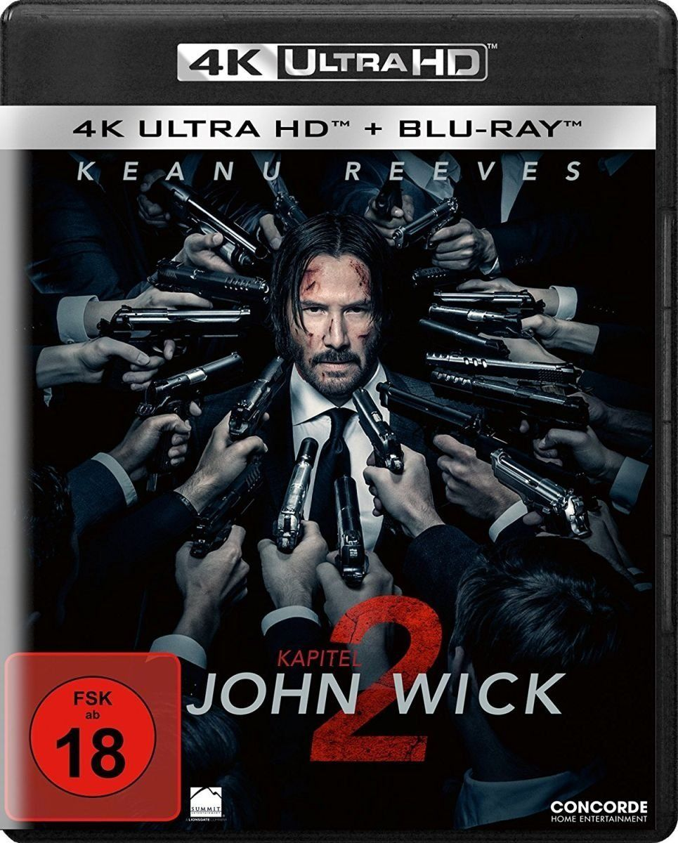 John Wick: Kapitel 2 (2 Discs) (UHD BLURAY + BLURAY)