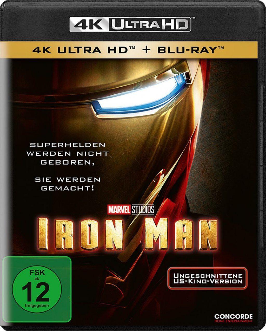 Iron Man (2 Discs) (UHD BLURAY + BLURAY)