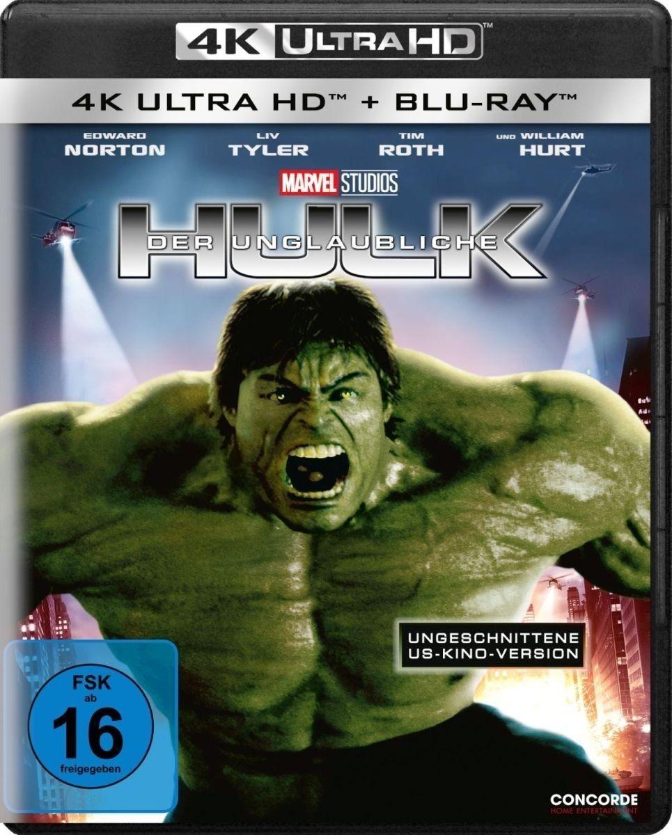 Unglaubliche Hulk, Der (2008) (2 Discs) (UHD BLURAY + BLURAY)
