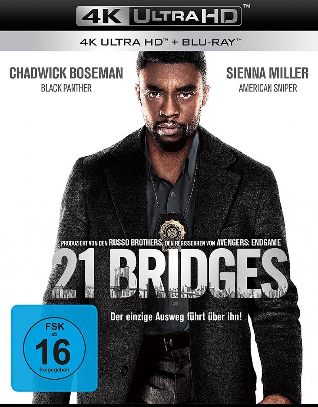 21 Bridges (2 Discs) (UHD BLURAY + BLURAY)