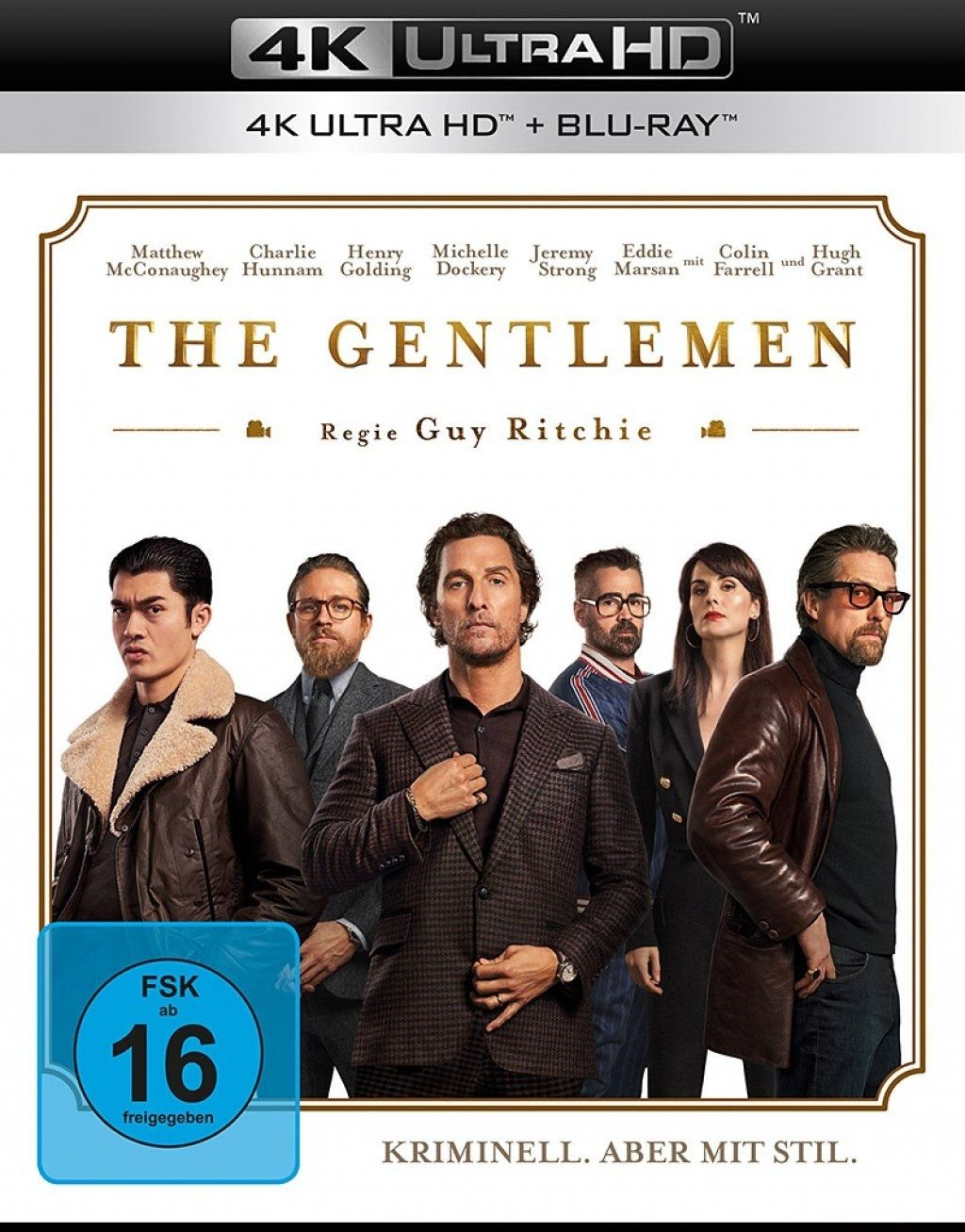 Gentlemen, The (2 Discs) (UHD BLURAY + BLURAY)