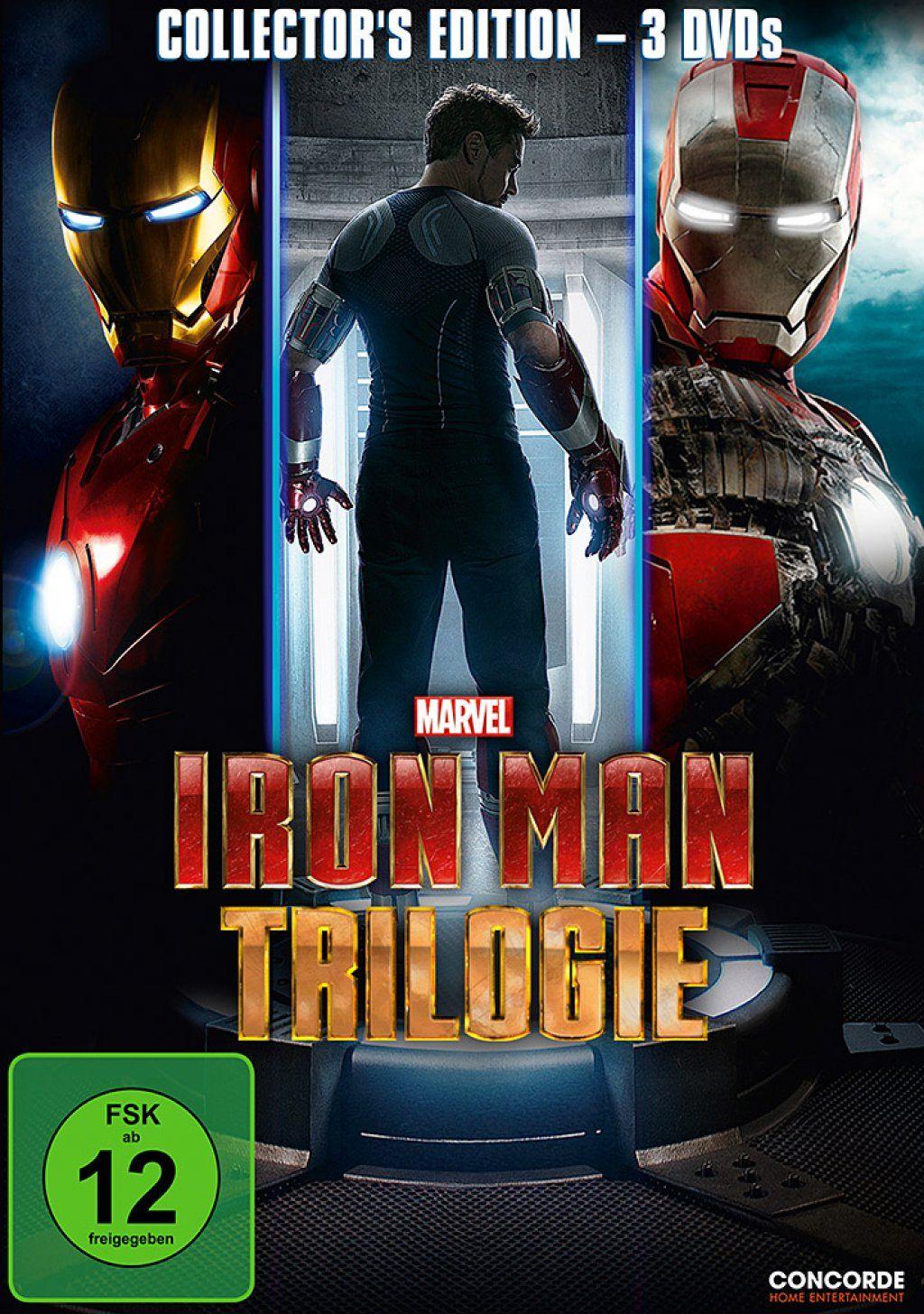 Iron Man Trilogie (3 Discs)