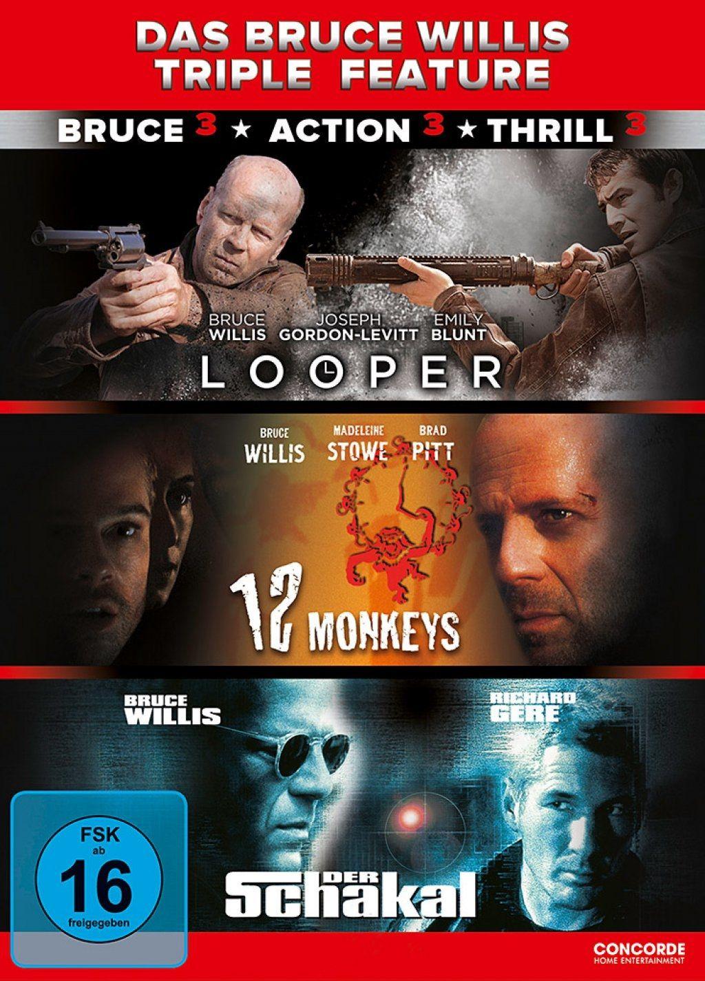 Bruce Willis Triple Feature, Das (3 Discs)
