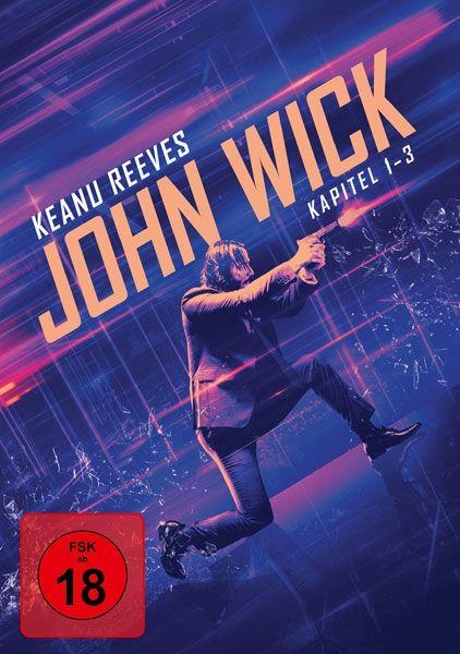 John Wick - Kapitel 1-3 Collection (3 Discs)