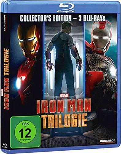 Iron Man Trilogie (3 Discs) (BLURAY)