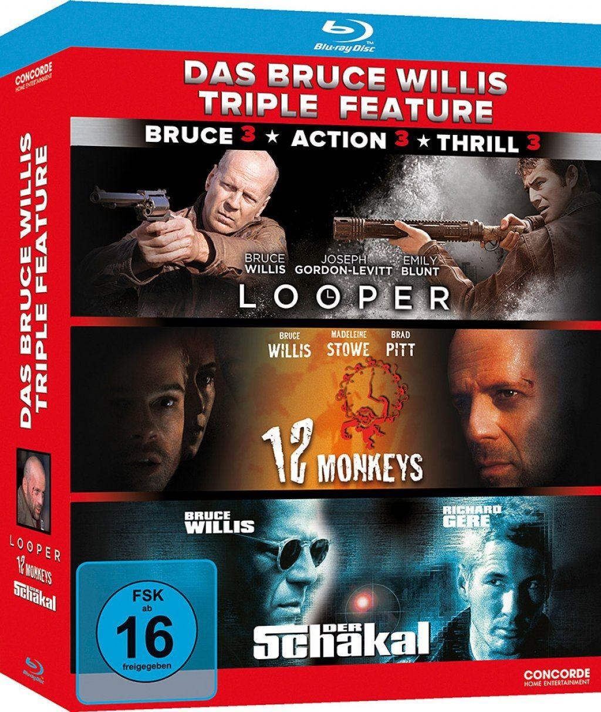 Bruce Willis Triple Feature, Das (3 Discs) (BLURAY)