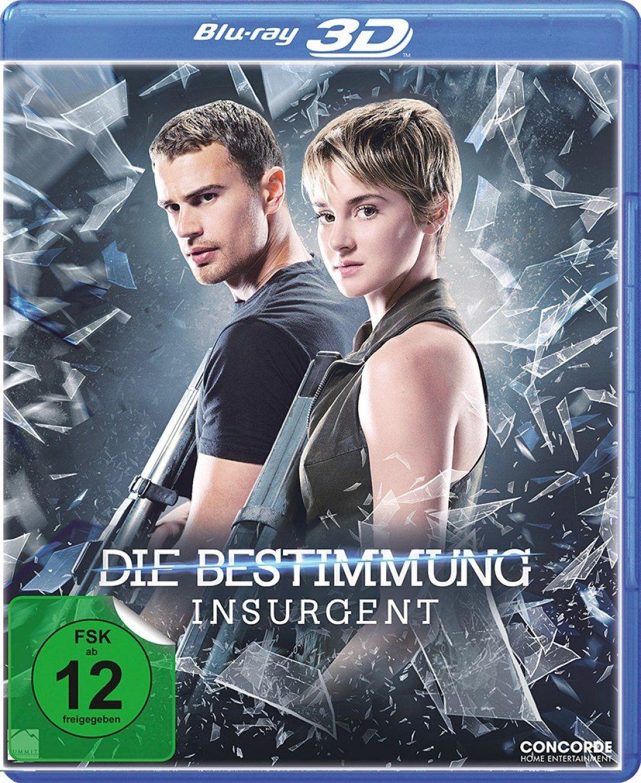 Bestimmung, Die - Insurgent 3D (Lenticular Edition) (BLURAY 3D)