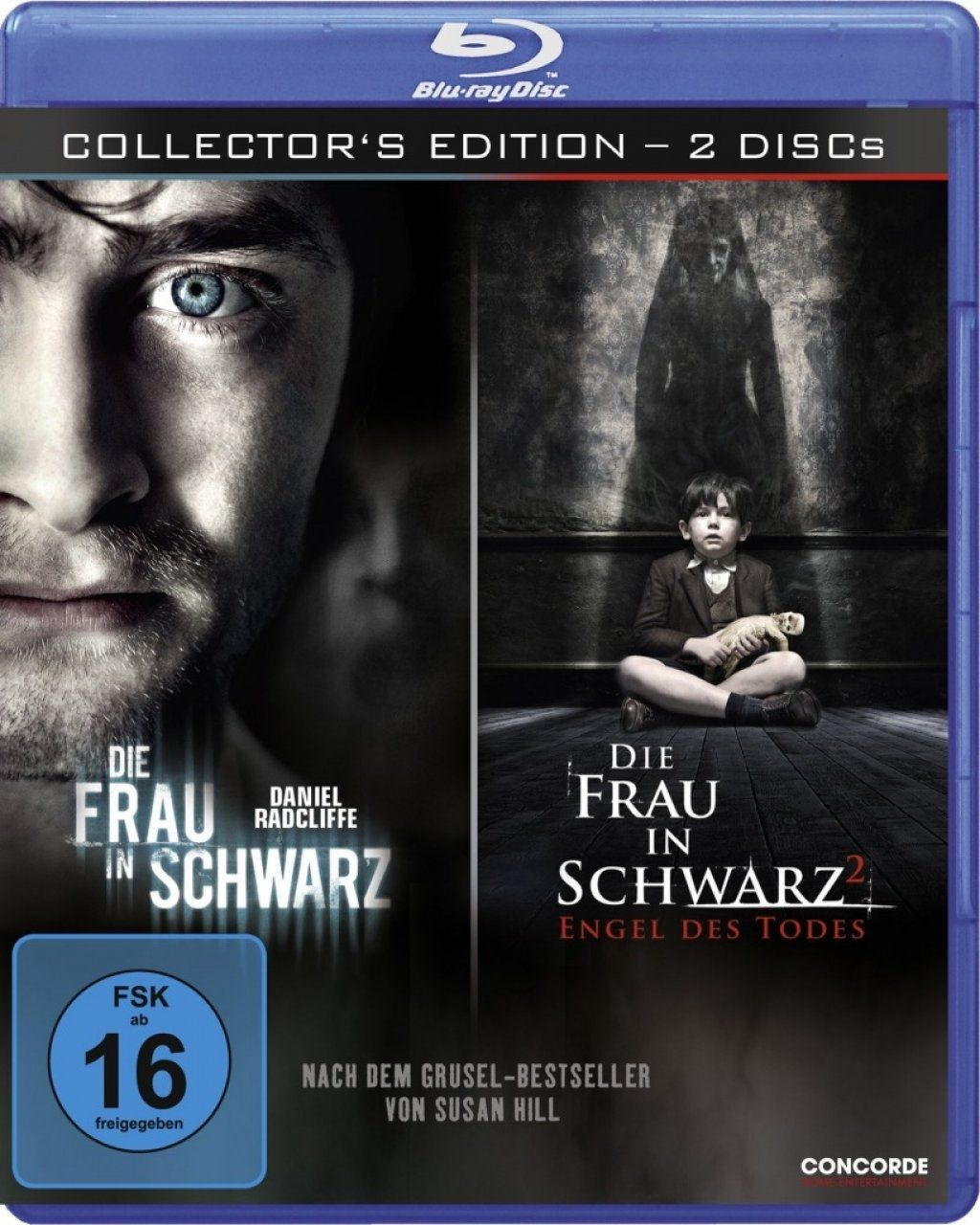 Frau in Schwarz, Die 1 + 2 (Uncut) (BLURAY)
