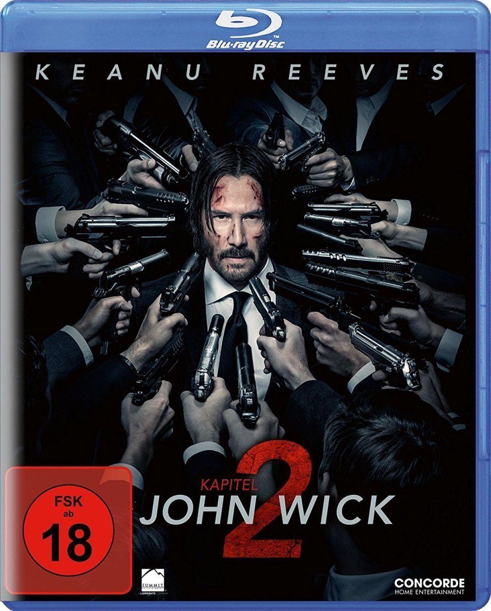 John Wick: Kapitel 2 (BLURAY)