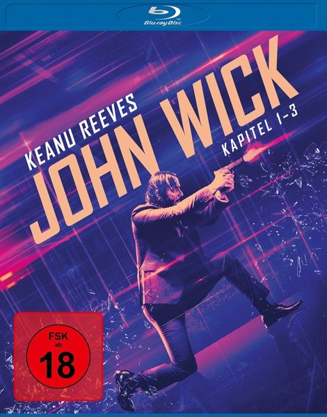 John Wick - Kapitel 1-3 Collection (3 Discs) (BLURAY)