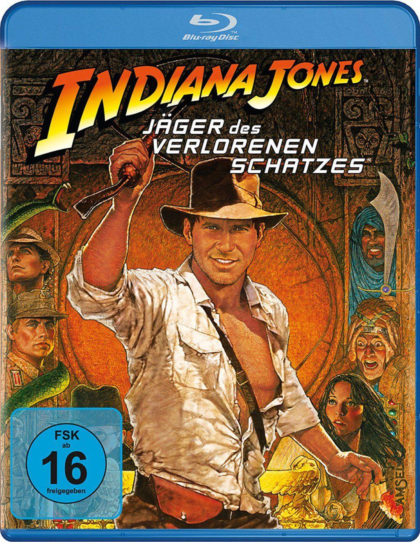 Indiana Jones 1: Jäger des verlorenen Schatzes (BLURAY)