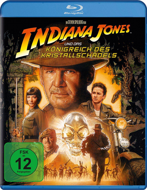 Indiana Jones 4: Und das Königreich des Kristallschädels (BLURAY)