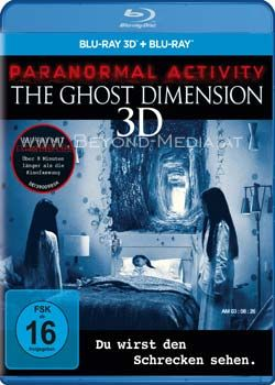 Paranormal Activity - Ghost Dimension 3D (BLURAY 3D)