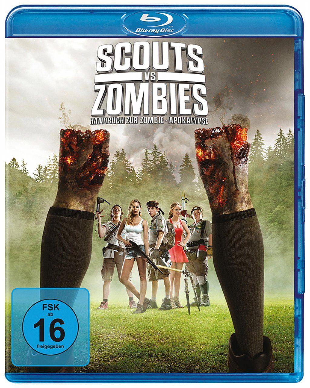 Scouts vs Zombies - Handbuch zur Zombie-Apokalypse (BLURAY)