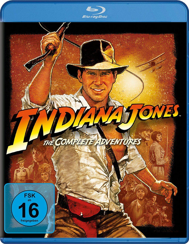 Indiana Jones: The Complete Adventures (4 Discs) (BLURAY)