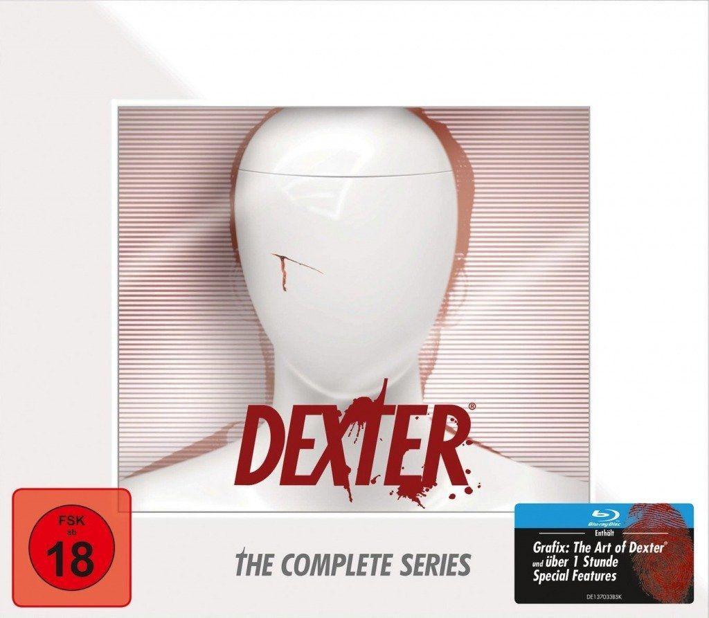 Dexter - Die komplette Serie (Büste) (35 Discs) (BLURAY)