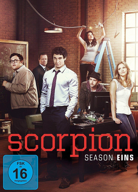 Scorpion - Staffel 1 (6 Discs)