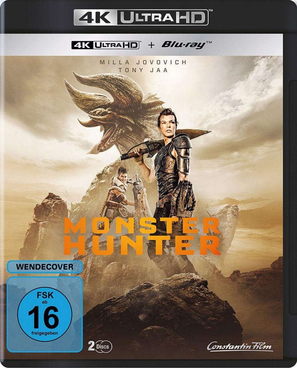 Monster Hunter (2 Discs) (UHD BLURAY + BLURAY)