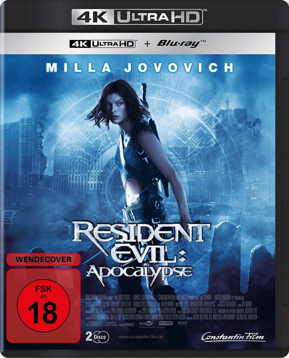 Resident Evil - Apocalypse (2 Discs) (UHD BLURAY + BLURAY)