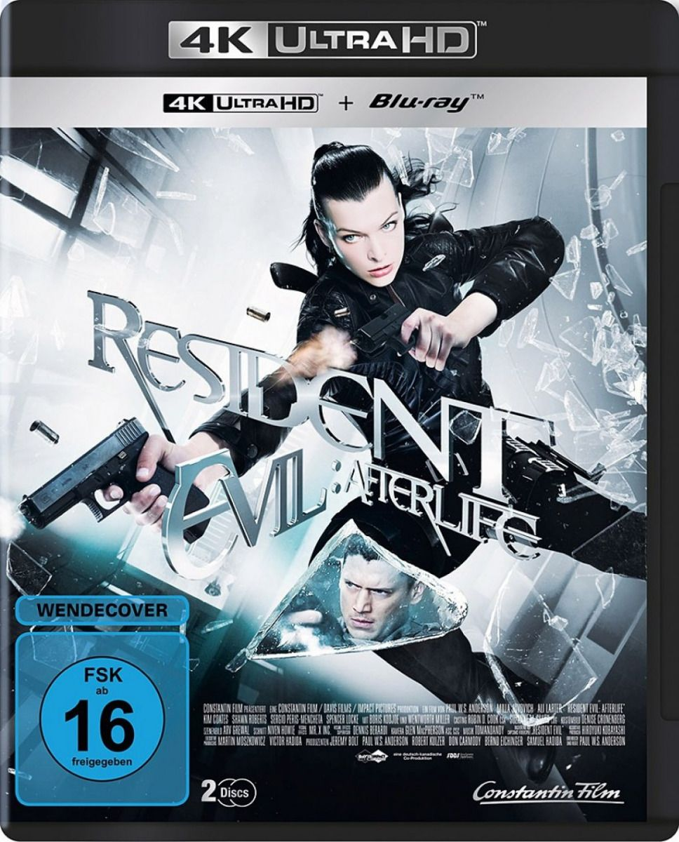 Resident Evil - Afterlife (2 Discs) (UHD BLURAY + BLURAY)