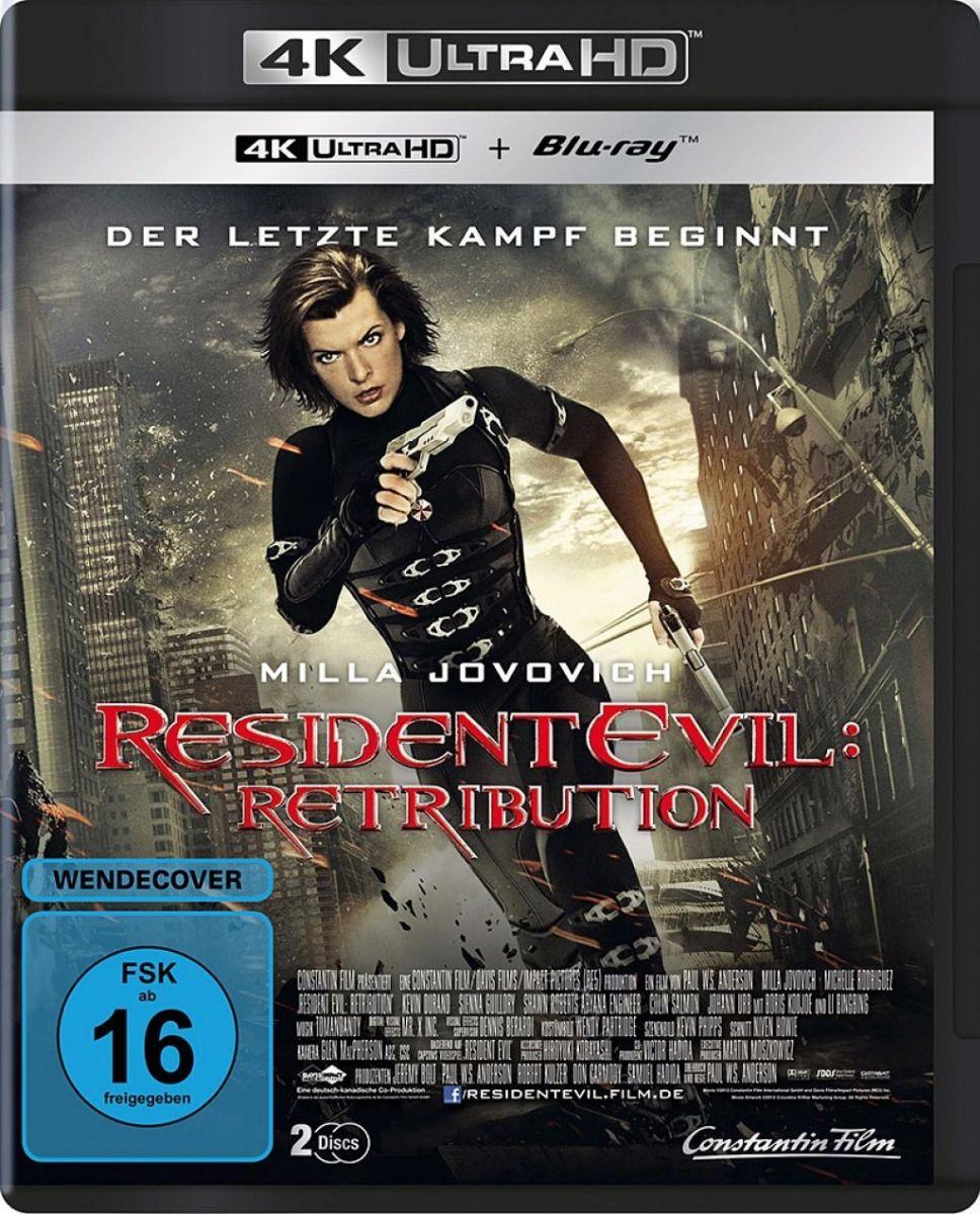 Resident Evil - Retribution (2 Discs) (UHD BLURAY + BLURAY)