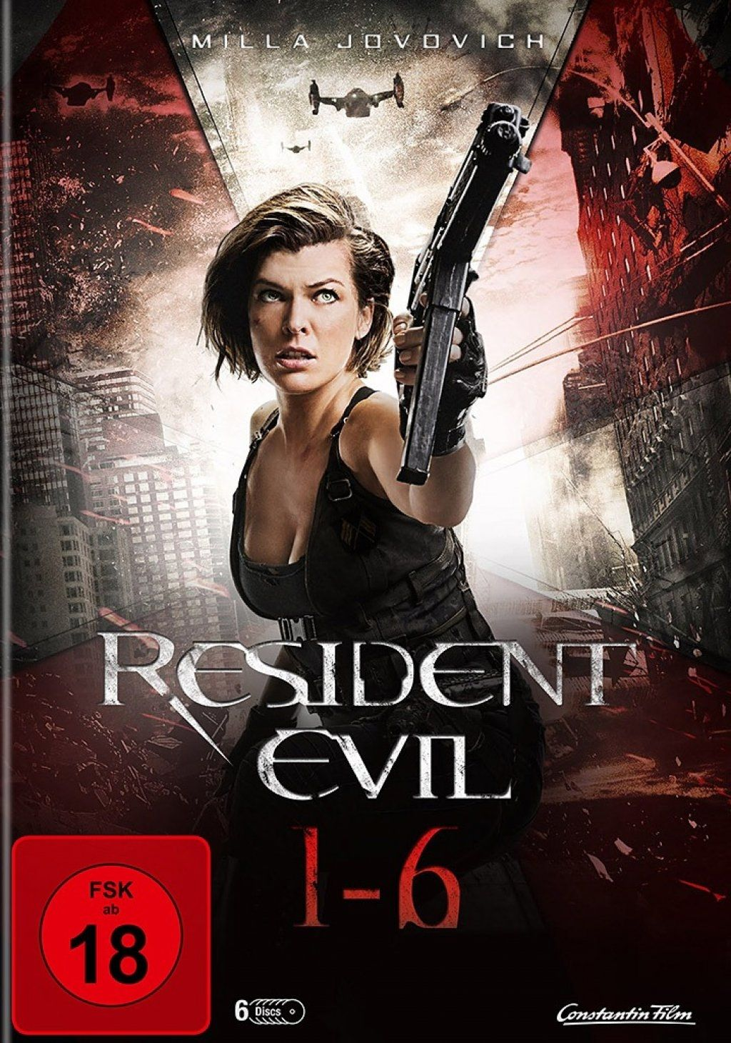 Resident Evil 1-6 Collection (6 Discs)
